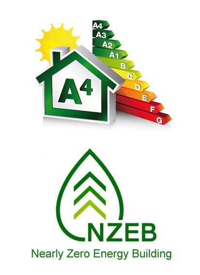 Classe A4 e costruzione NZEB